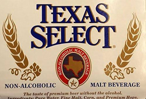 Texas Select Non-Alcoholic Malt Beverage - 6pk, 12oz