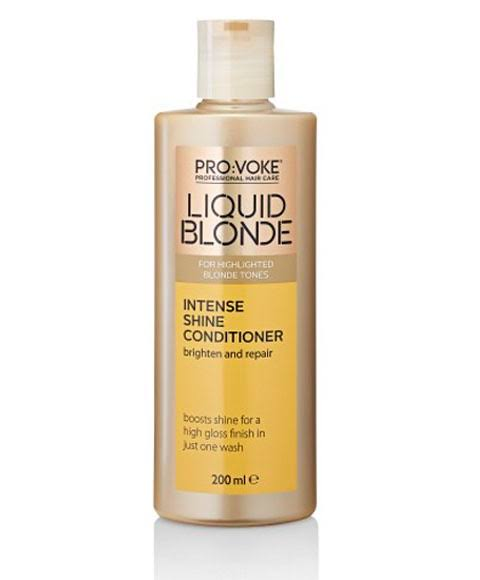 PRO:VOKE Liquid Blonde Intense Shine Conditioner, 200 ml