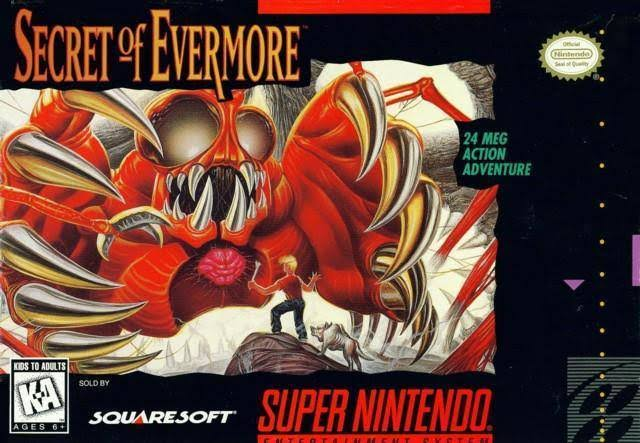 Secret of Evermore - Nintendo SNES