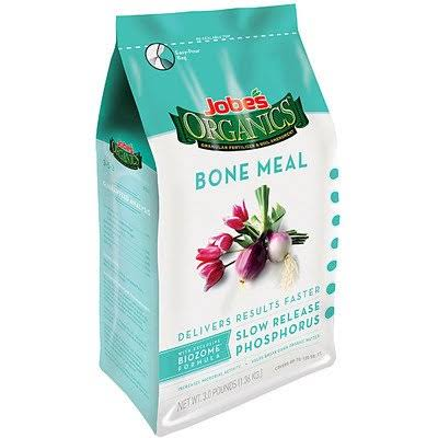Jobe's 09326 Organic Bone Meal Granular Fertilizer - 4lbs