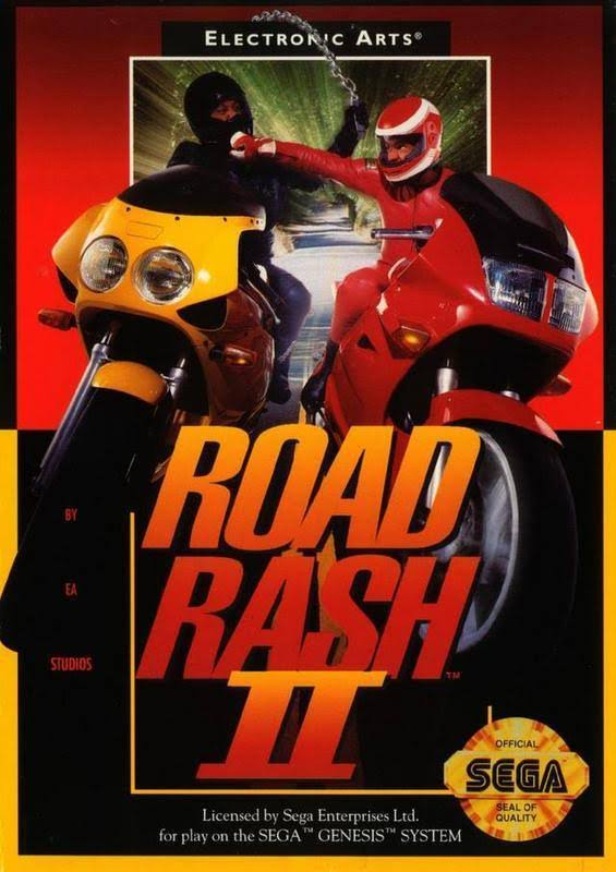 Road Rash II [Sega Genesis Game]