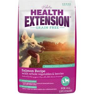 Health Extension Grain Free Salmon Recipe Dry Dog Food 4 lbs.