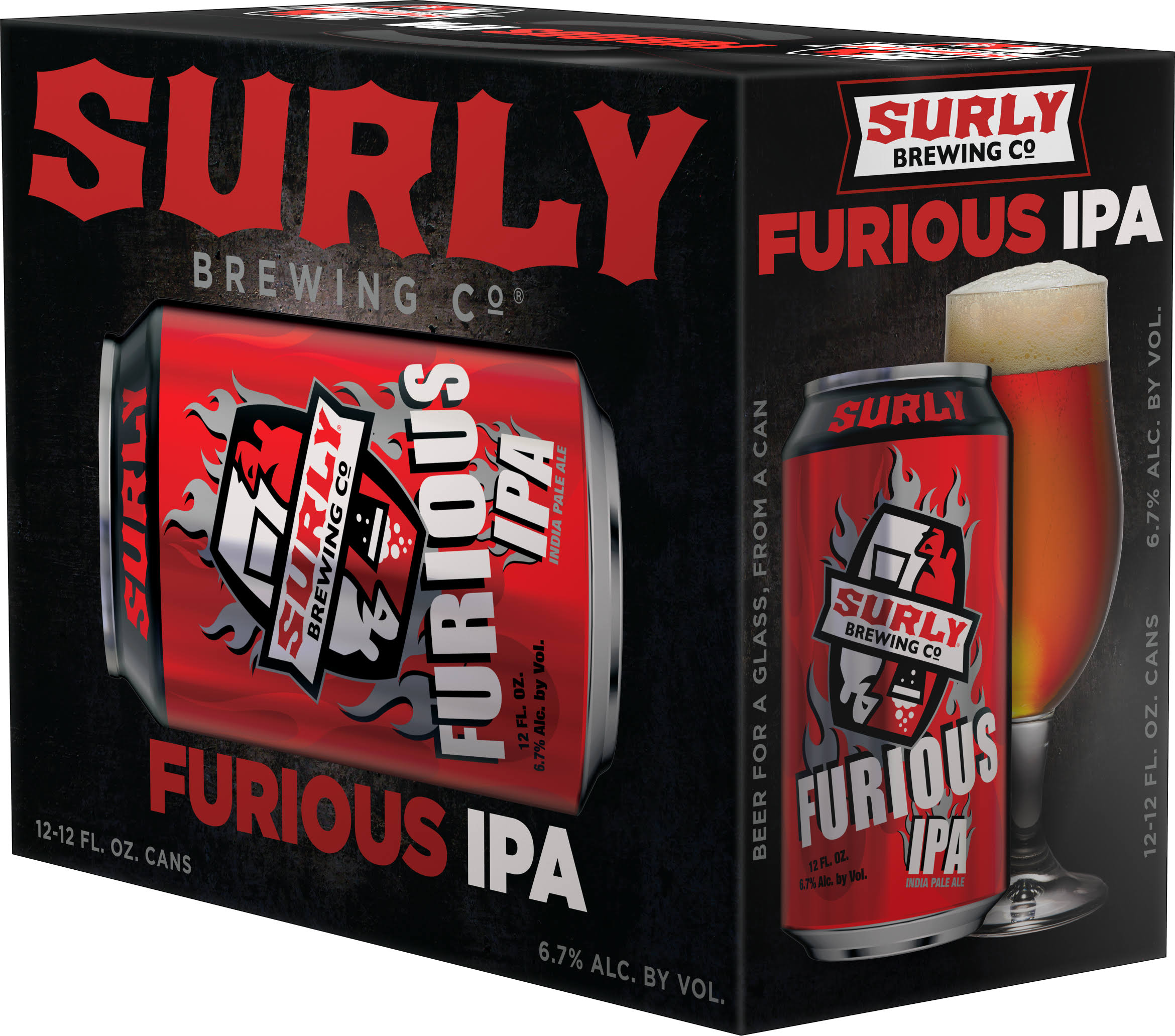 Surly Brewing Company Furious IPA - 12 fl oz