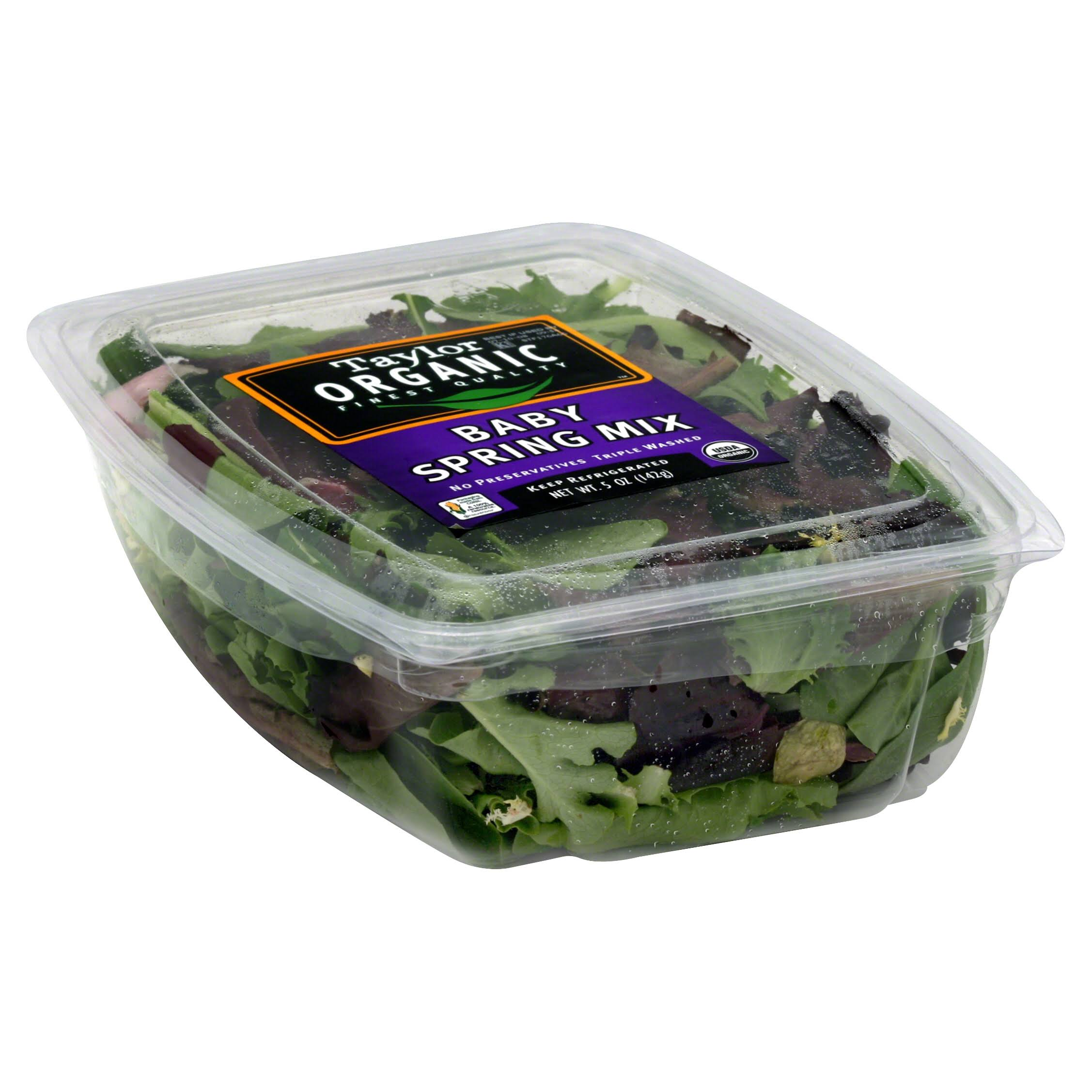 Taylor Farms Organic Spring Mix - 142g