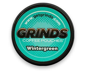 Grinds Coffee Pouches Coffee Pouches, Wintergreen - 0.635 oz