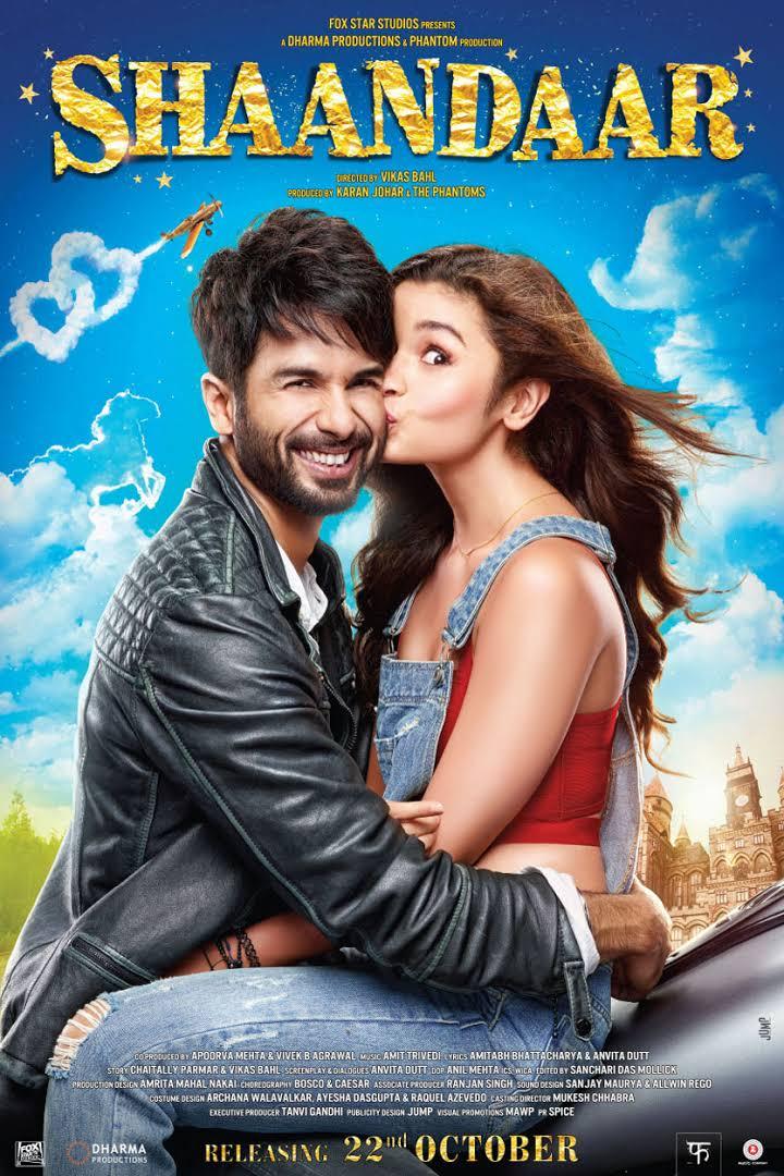 Shaandaar full hindi movie download 2015 DVDRip