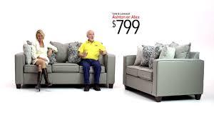 Bobs Living Room Table by Ashton And Alex Sofa Sets Bob U0027s Discount Furniture Youtube