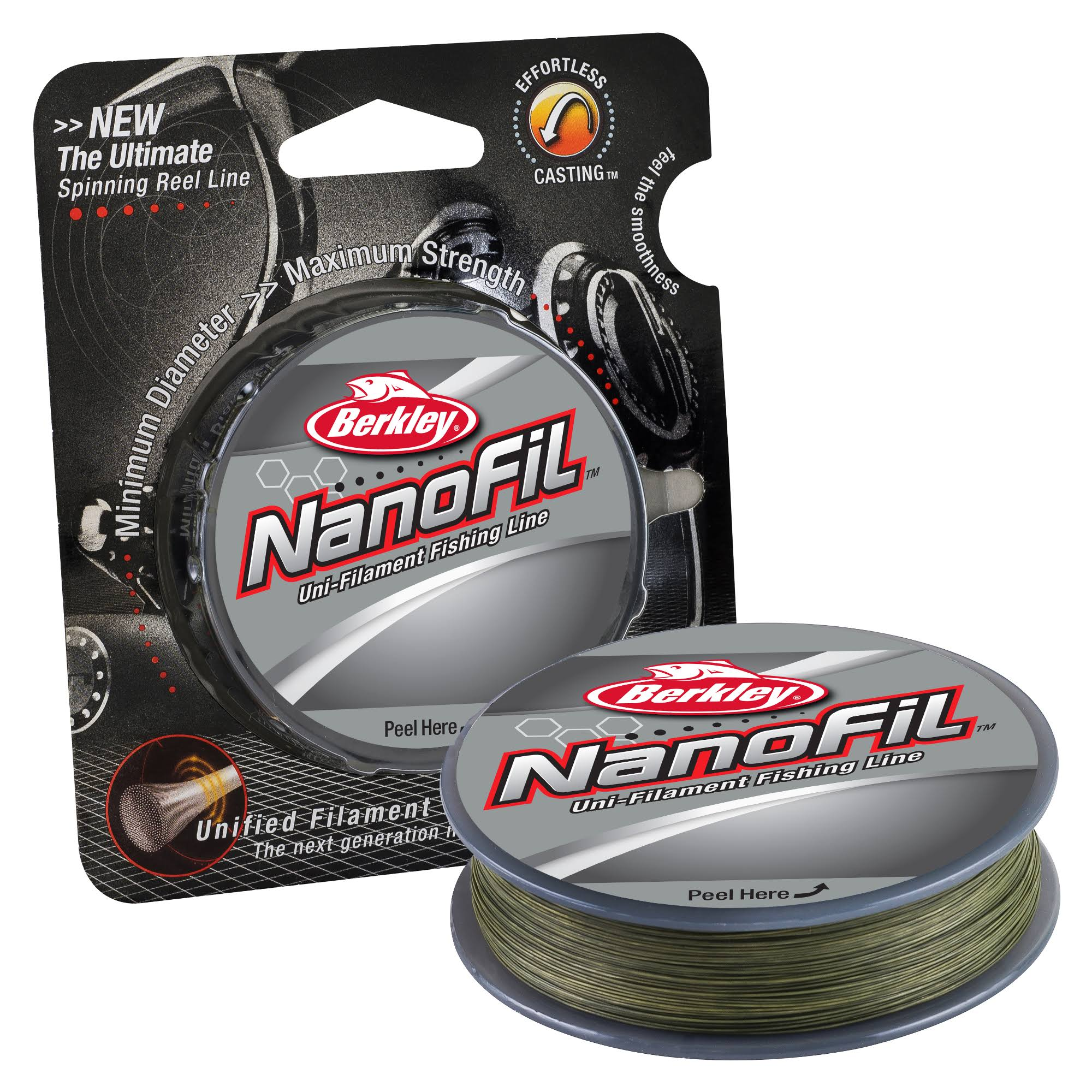 Berkley Nanofil Uni-Filament Fishing Line - Green