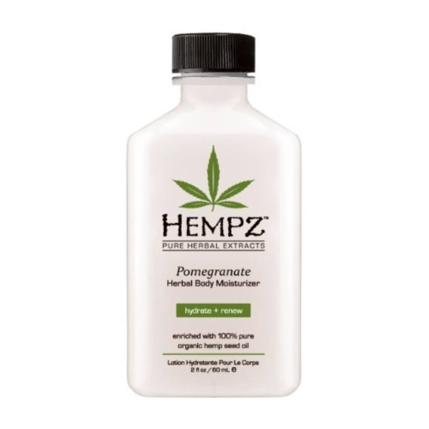 Hempz Pomegranate Herbal Body Moisturizer - 2.25 Oz