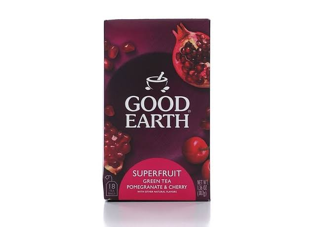Good Earth Pomegranate Burst Green Tea - 18ct