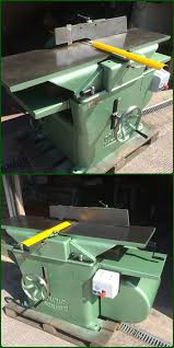 Woodworking Machinery Auction Uk by 16 X 9 Inch Planer Thicknesser Dominion With Brake Unit Ebay