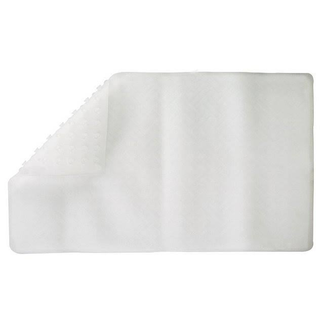 Living Accents Bath Mat - Clear, Large