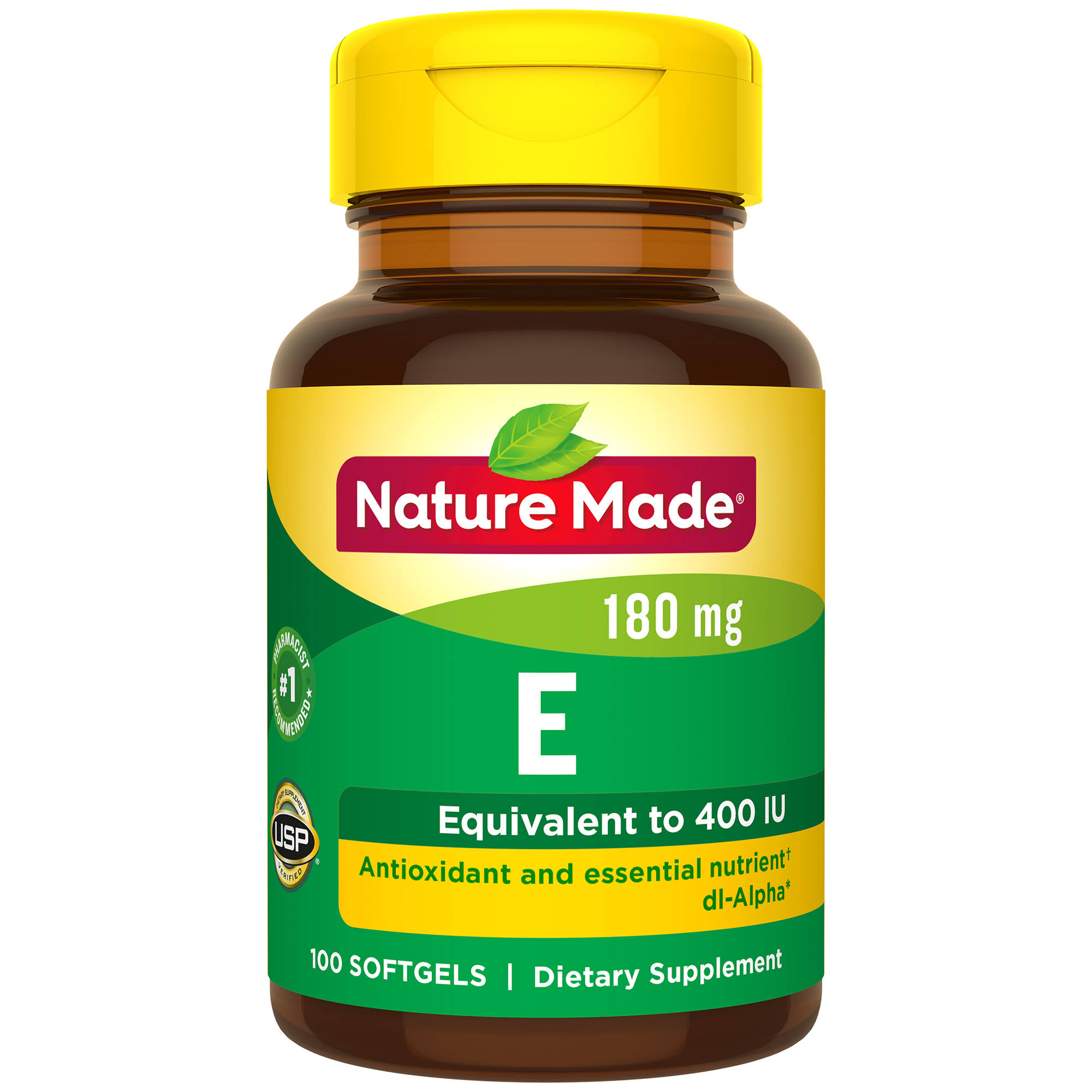 Nature Made Vitamin E 400 I.U. Supplement - 100ct