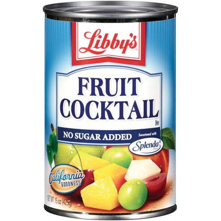 Libby's Splenda Fruit Cocktail - 418g