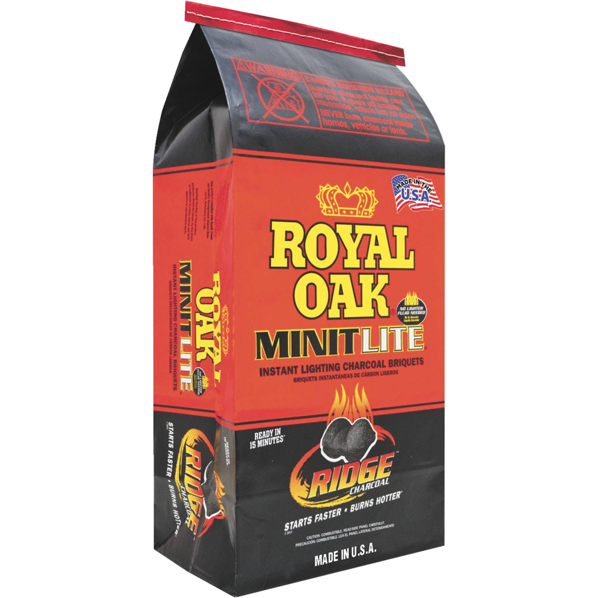Royal Oak Minit Lite Charcoal Briquets - 6.7lbs
