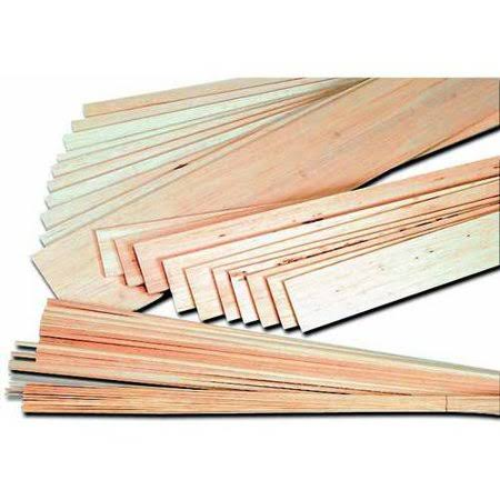 Midwest Balsa Wood Strips - 1/8 x 1/8 x 36in, 36pcs