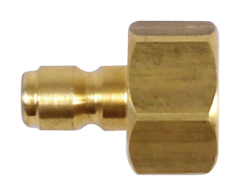 Forney 75123 Pressure Washer Quick Coupler Plug - 1/4""