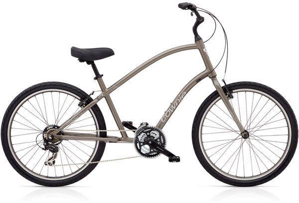 Electra Townie Original 21D Bike - Stout Mettalic