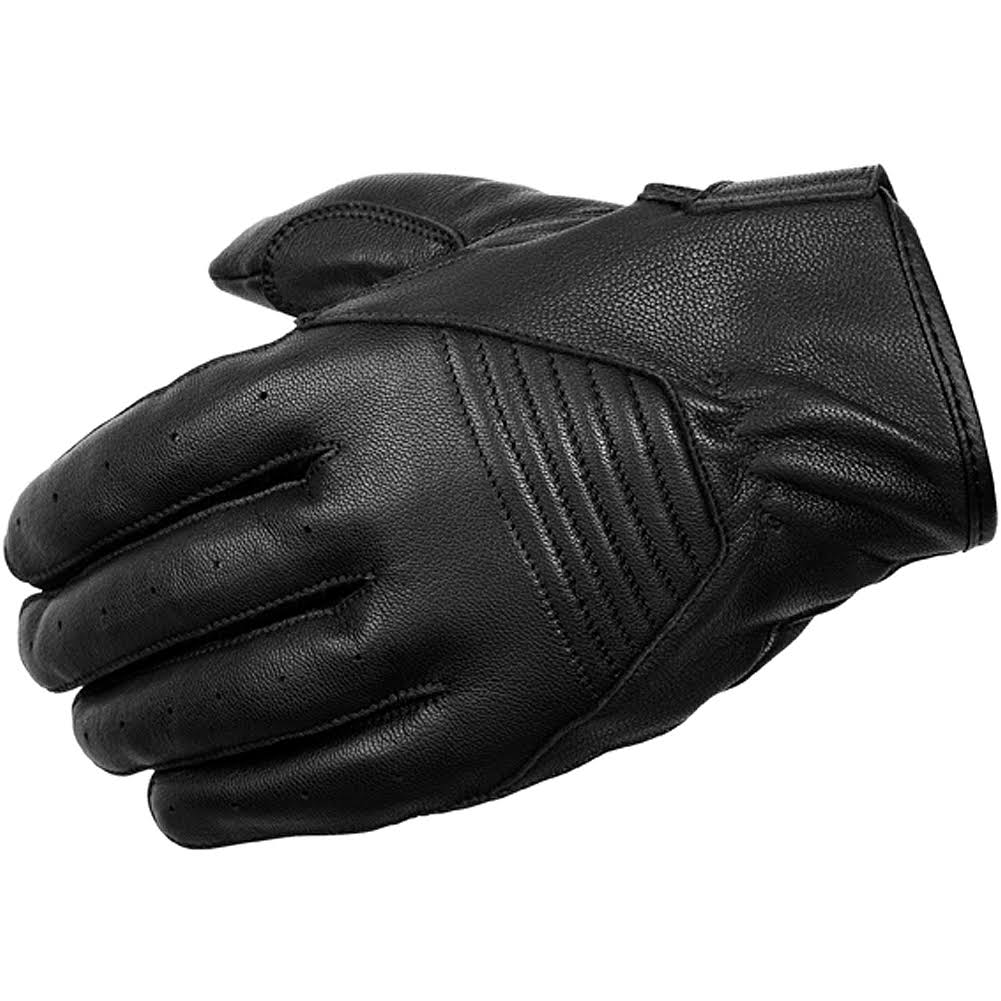 Scorpion Men's Short Cut Leather Gloves - Black, Medium