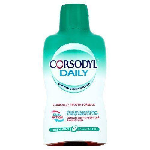 Corsodyl Gum Care Mouthwash - Fresh Mint, 500ml