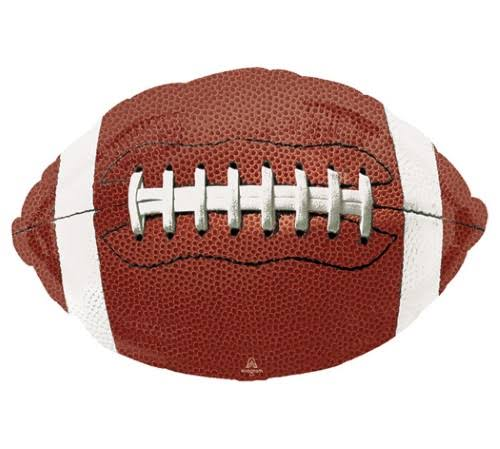 "Game Time Football 31"" Foil Balloon"