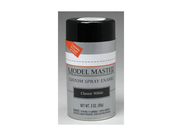 Testors Model Master Classic White Spray - 3oz