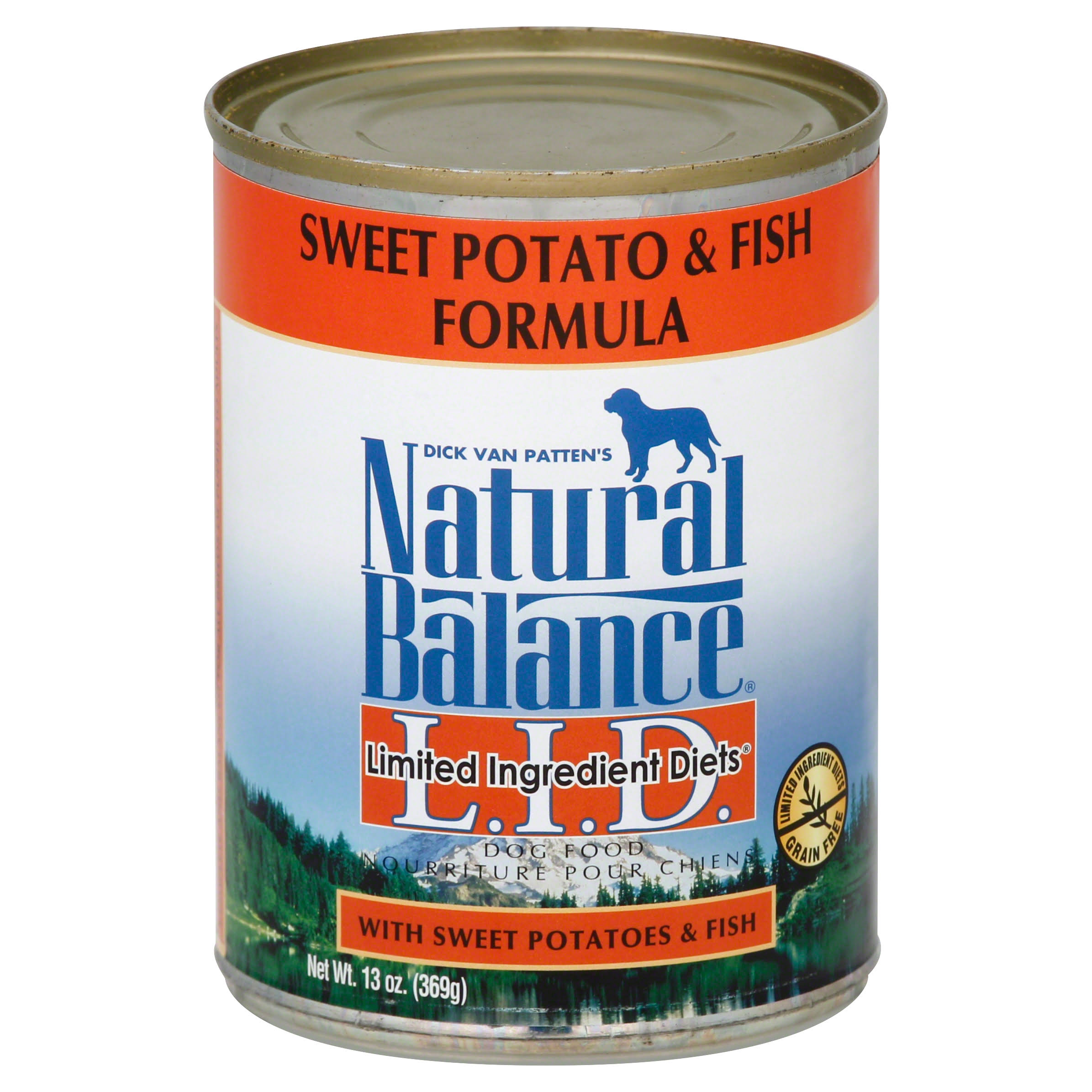 Natural Balance Limited Ingredient Diets Dog Food - Sweet Potato and Fish