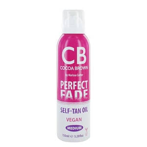 Cocoa Brown Perfect Fade Self Tan Oil Medium 150ml