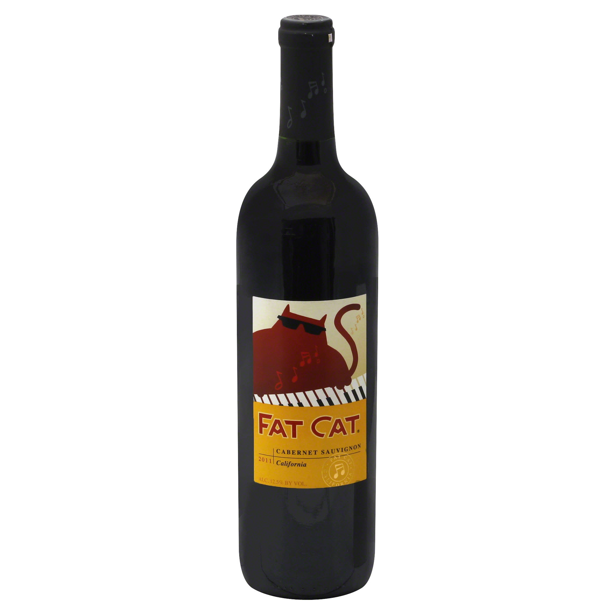 Fat Cat Cabernet Sauvignon, California, 2011 - 750 ml