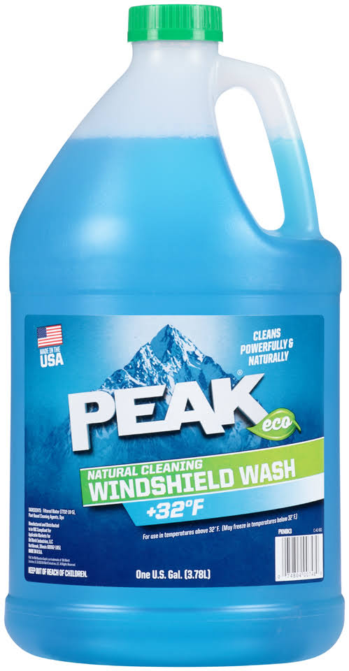 Peak PXN0K3 Natural Cleaning Windshield Wash - 1gal