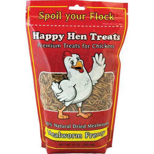 Happy Hen Treats Mealworm Frenzy Chicken Treat - 10oz