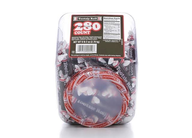 Tootsie Rolls Tub Taffy Candy - 280ct