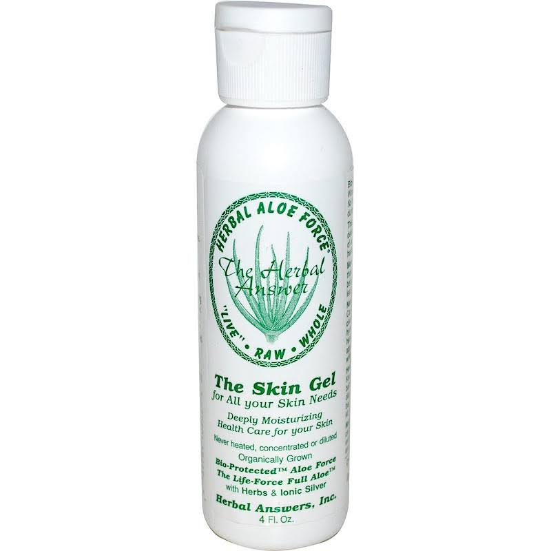 Herbal Aloe Force Skin Gel - 4 fl oz bottle