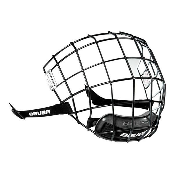 Bauer Profile II Oreo Cage Protective Gear - White and Black, Large, in Bag Itech