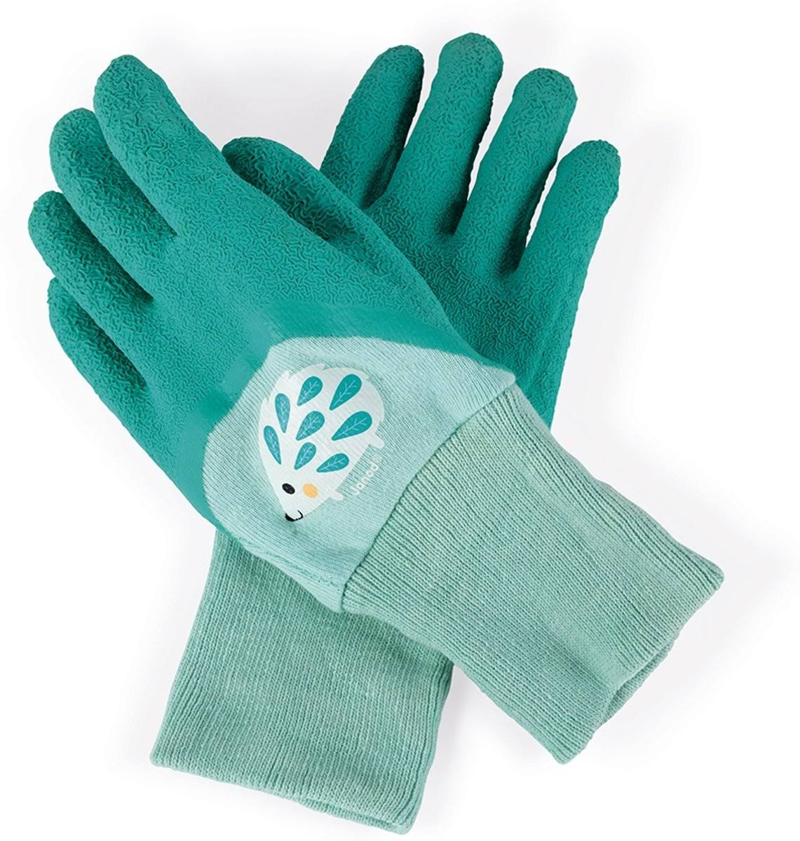 Janod Happy Garden Kids Gloves - Hedgehog