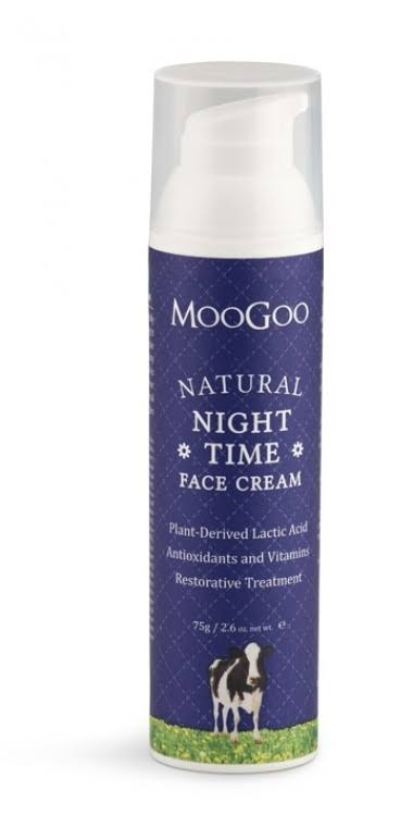 MooGoo Natural Night Time Face Cream 75g