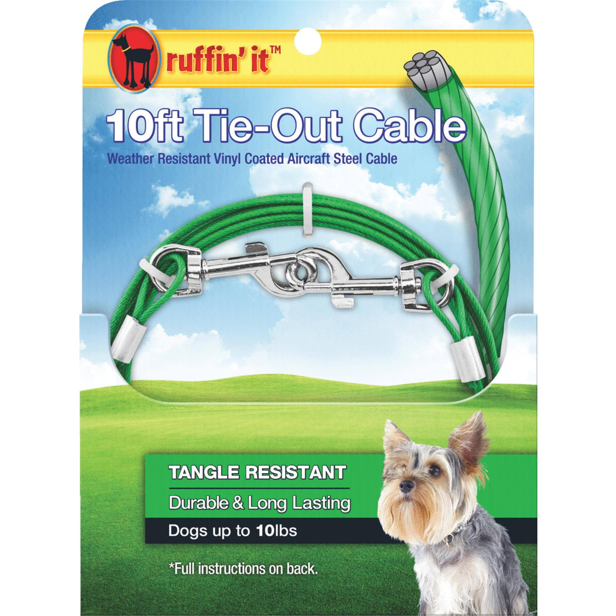 Westminster Pet Vinyl Coated Dog Tie-Out Cable - 10'