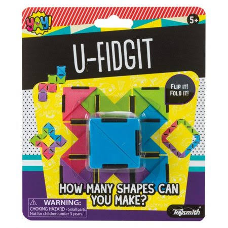 U-Fidget (Colors May Vary) - Fidget Toy by Toysmith (90906)