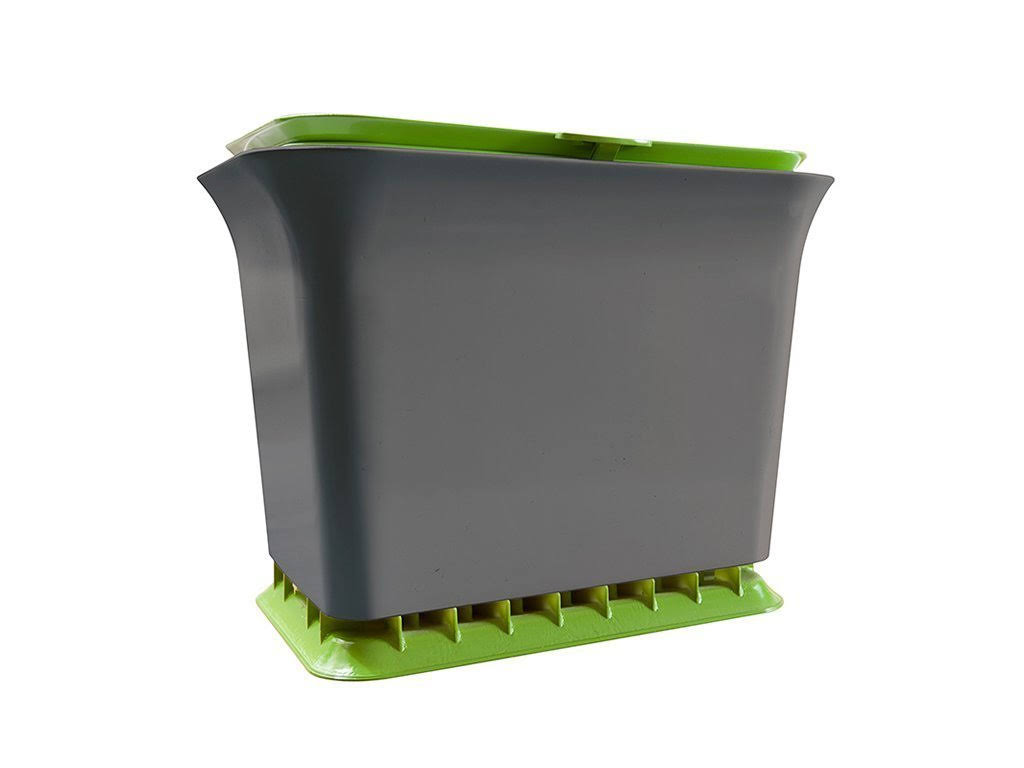 Full Circle Fresh Air Kitchen Compost Collector - Green