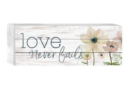 Love Never Fails Box Art