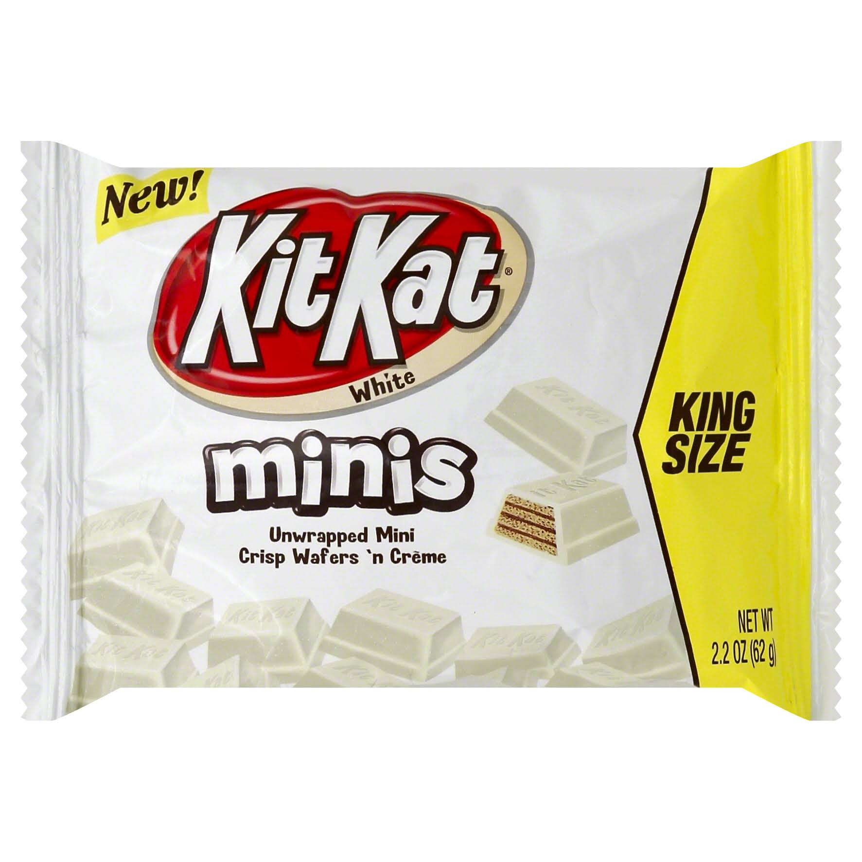 Kit Kat Minis Crisp Wafers 'N Cream - 226g, White