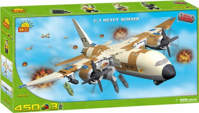 Cobi C-7 Small Army Heavy Bomber Box Set