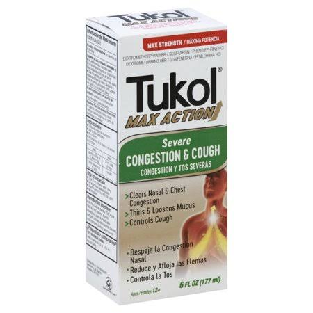 Tukol Max Action Congestion & Cough, Severe, Max Strength - 6 fl oz
