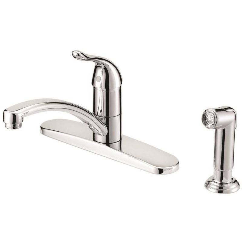 Mintcraft 67534-1001 Kitchen Faucet 1 Handle With Spray - Chrome