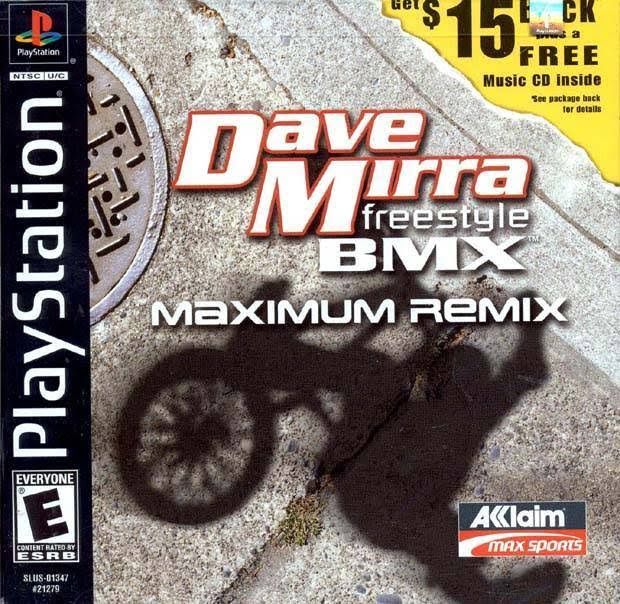 Dave Mirra Freestyle BMX: Maximum Remix - PlayStation 1