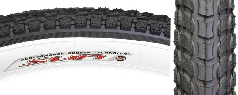 "Sunlite Cruiser 927 Tires - Black/White, 26"" x 2.125"""