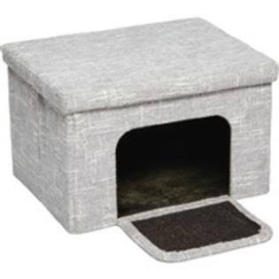 Midwest Curious Cat Cube Cottage - Silver
