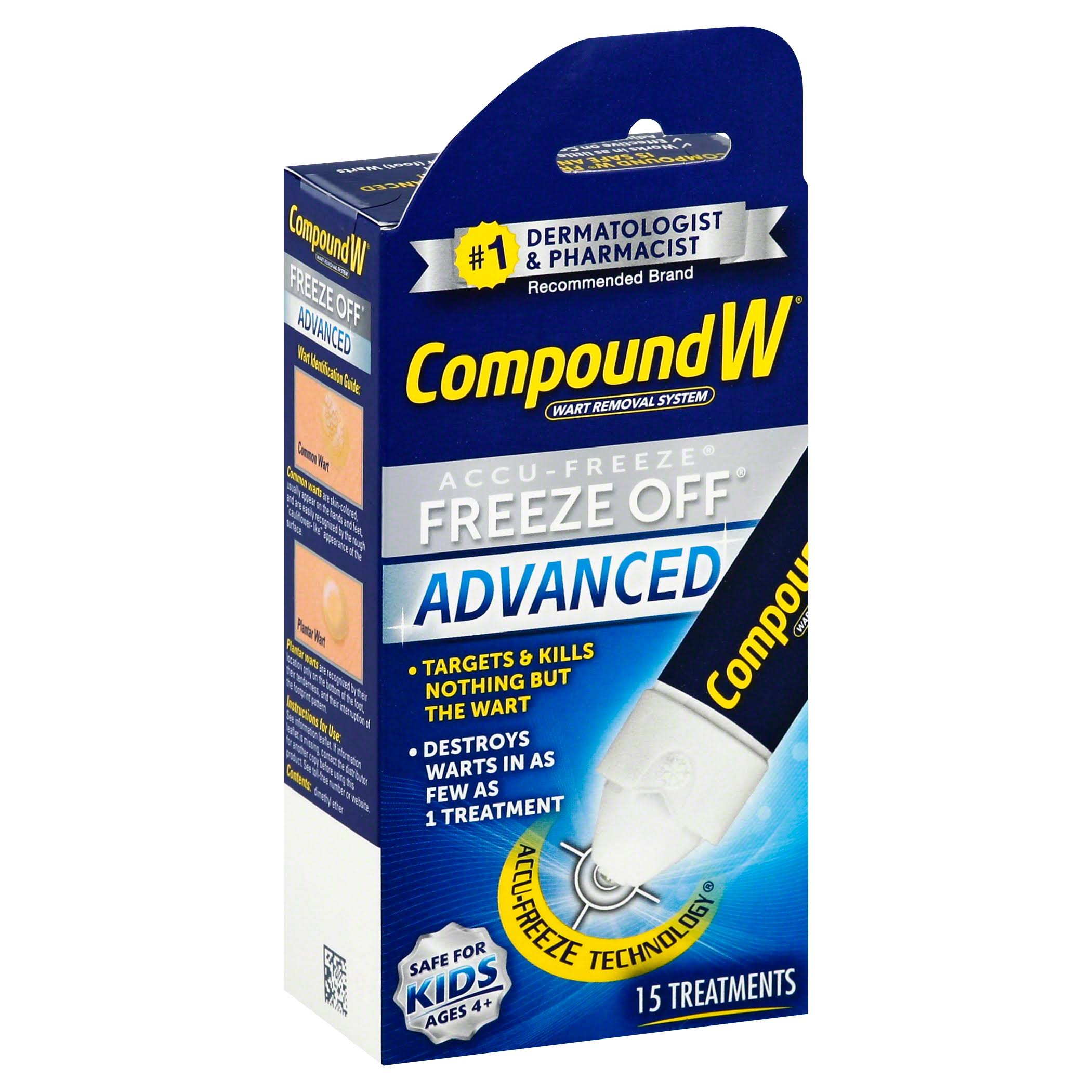 Compound W Freeze Off Wart Removal System - 15 Treatments