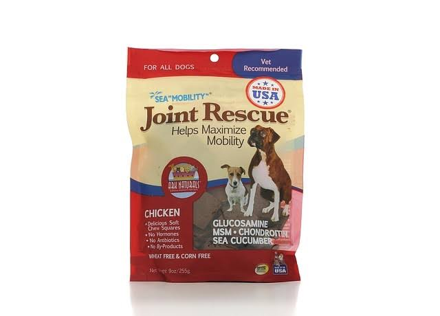 Ark Naturals Sea Mobility Joint Rescue Dog Treat - Chicken Jerky, 9oz