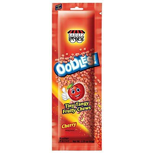 Paskesz Oodles Fruity Chews - Cherry, 2.29oz